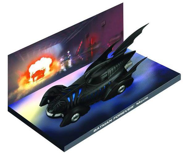 Batman Forever 1995 Batmobile Die-Cast Vehicle with Magazine