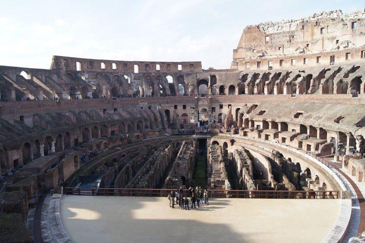 #Colosseum #Amphitheatre #Rome #Travel #MustSee