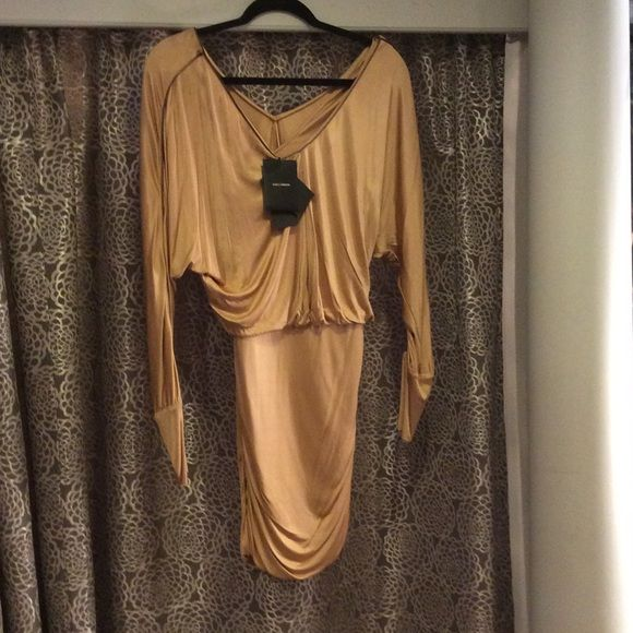 NWT Dolce and Gabbana gold dress NWT Dolce and Gabbana gold dress Dolce & Gabbana Dresses
