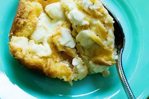 Sleepin' in Omelette- pioneer woman - brunch/ breakfast casserole