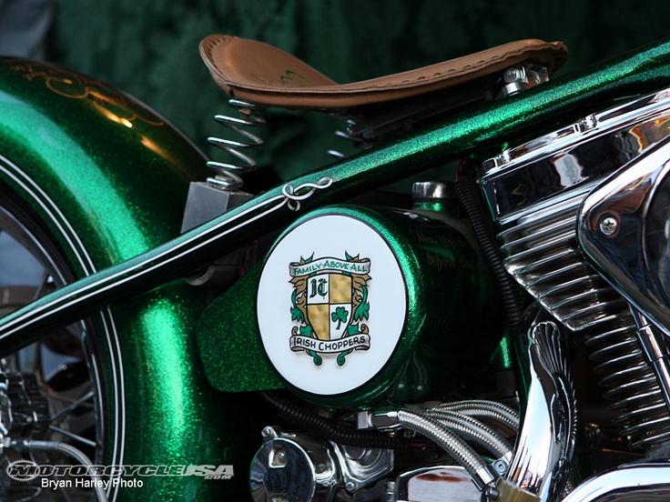 Laconia Custom Builder Feature - Irish Choppers - Motorcycle USA