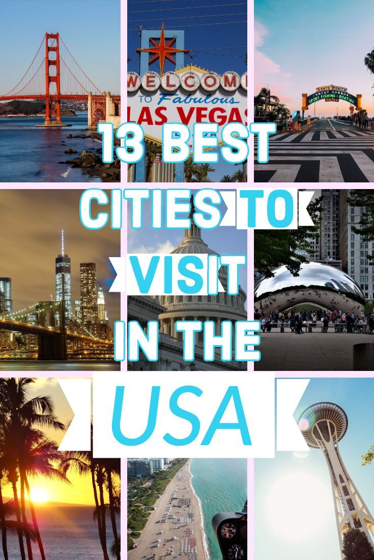 13 Best Cities To Visit In The Usa Travel Travel Leisure Best Cities