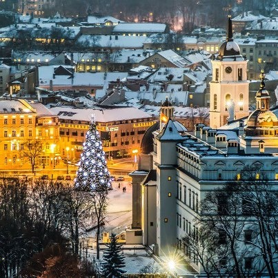 Vilnius, Lithuania  Winter