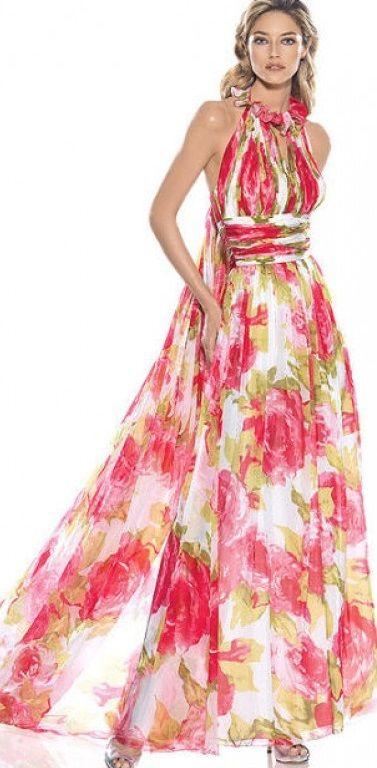 yazlık çiçekli uzun elbiseler - Google'da Ara