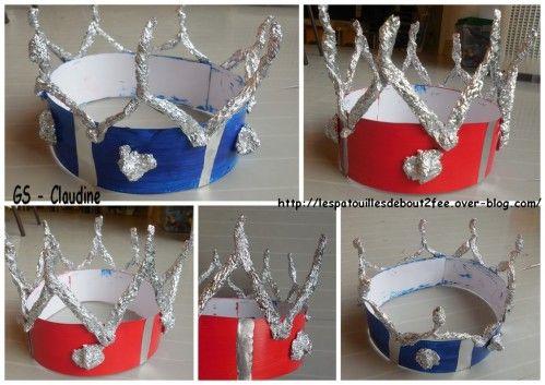 couronne peinture et aluminium grande section