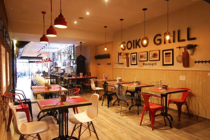GOIKO GRILL: MADRID EN 17 HAMBURGUESAS