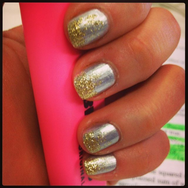 glitz and glam. nail art