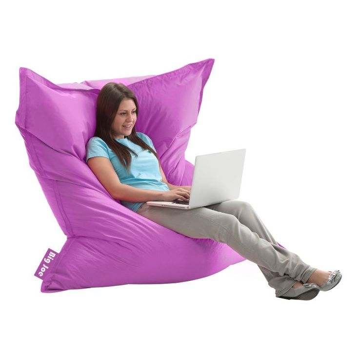 Big Joe Large Pillow Lounger Chair Radiant Orchid - 0640624