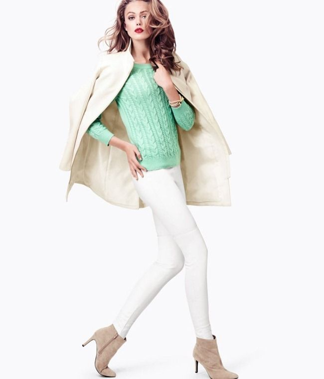 H | Winter 2012 | Fashion Look Book  (Mint is unstoppable, even in fall)
