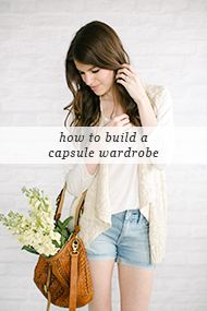 "How to build a ""capsule"" wardrobe. I would take a couple less tops/bottoms for another dress or two."