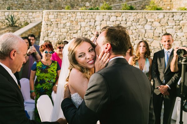 Elegant & chic wedding in Mykonos with an elegant olived theme decoration, Photography by Yiannis Sotiropoulos  see more here http://www.love4weddings.gr/elegant-chic-mykonos-wedding/  #churchesinGreece #destinationweddingsinGreece #Mykonosweddings #olivethemedwedding #outdoorceremony #realweddings