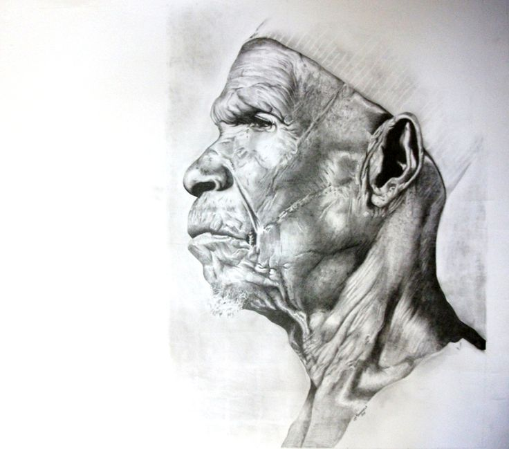 """""""Magogo"""" Pencil on paper A3 size #Sold"""