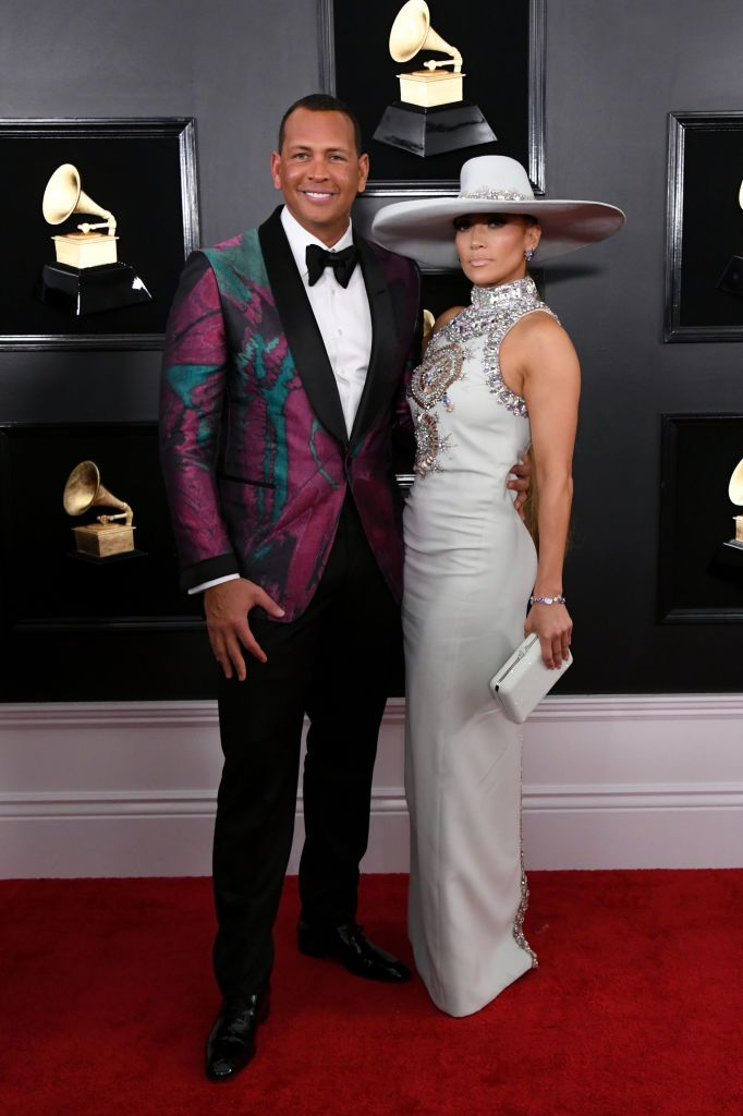 9ef5195b766 Alex Rodriguez and Jennifer Lopez attend the 61st Annual GRAMMY ...
