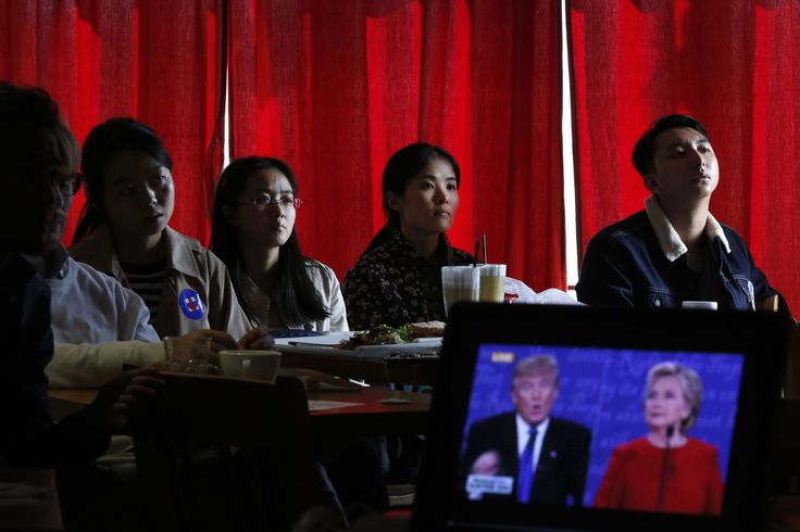 Views from around the world on Monday's first U.S. presidential debate between Democrat Hillary Clinton and Republican Donald Trump: ___ CHINA WANG PEI, a graduate student in communications studies, watched ...