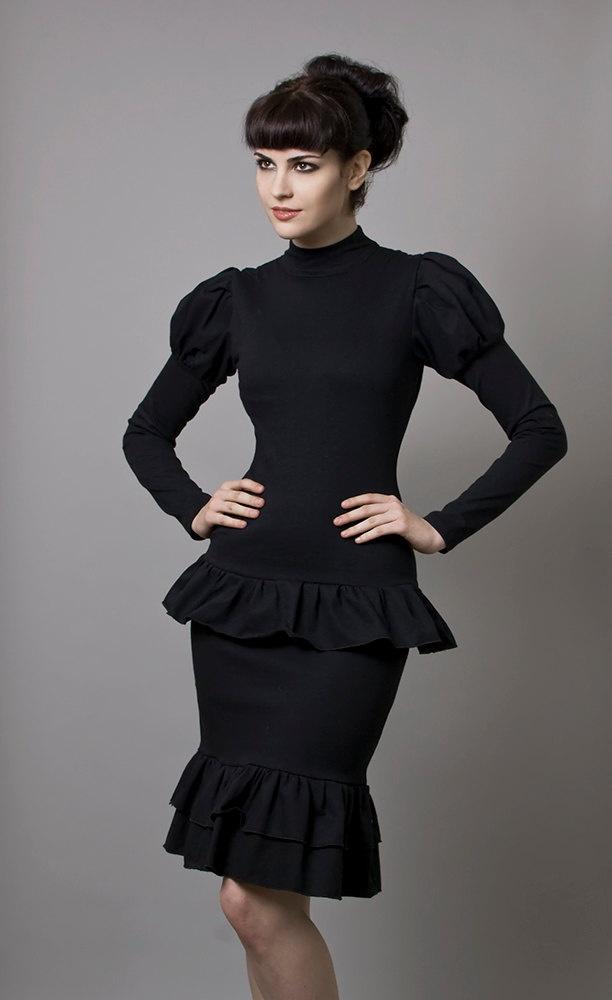 Hobble dress domination
