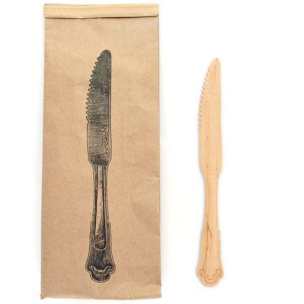 10 Vintage Wooden Knives