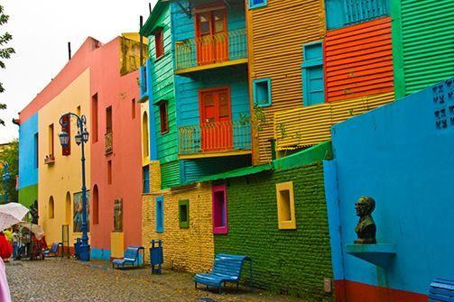 "Luoghi del mondo: Buenos Aires, quartiere ""Boca"""