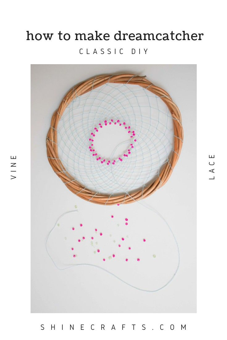104 best best of shine crafts images on pinterest bridal for How to make a dreamcatcher step by step