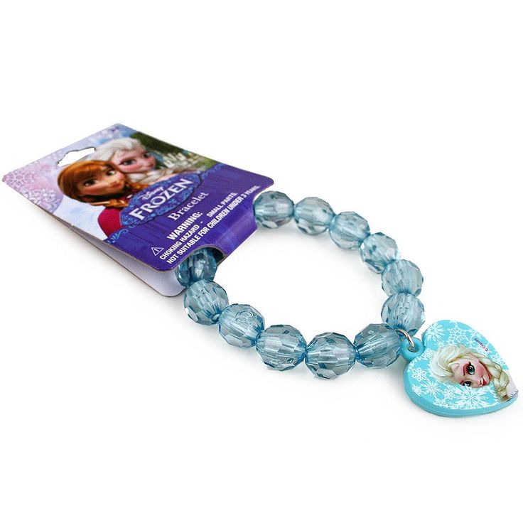Dress up with Elsa with this beautiful Disney Frozen Elsa bracelet!                                                                                                                                                      More