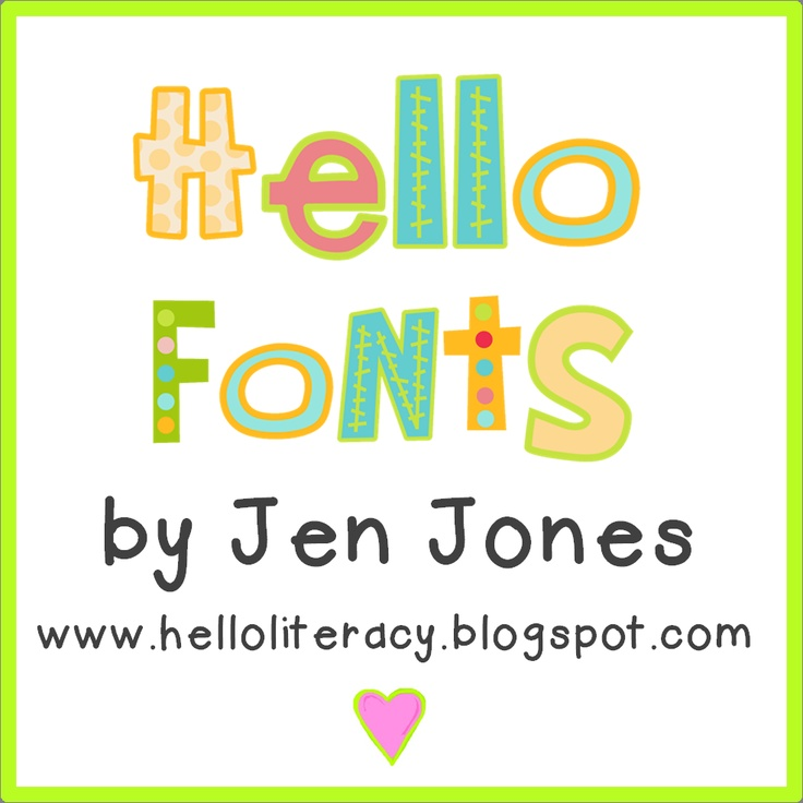 Free Fonts: Classroom, Teaching, Teacher Stuff, Teacher Fonts, Clip Art, Free Fonts, Clipart, Hello Fonts, 1St Grade