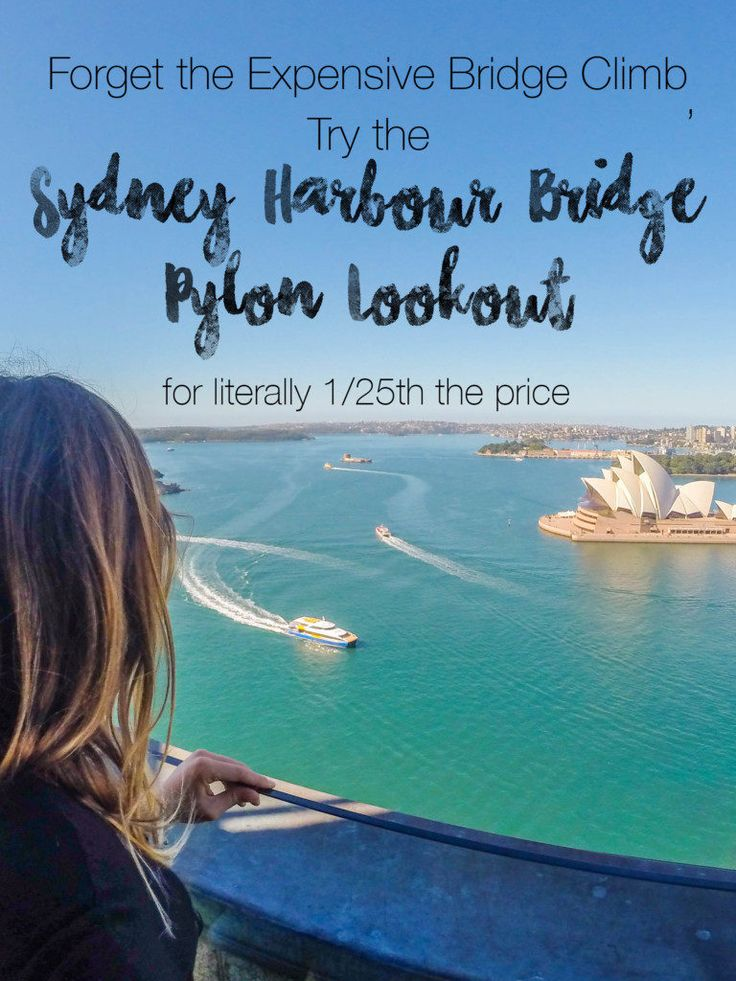 If it wasn't before, the Harbour Bridge Climb is officially totally not worth it, especially when you can climb to the pylon lookout for only $13 AUD.