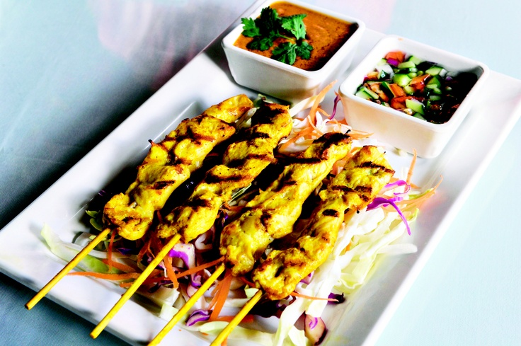 Satay Chicken at Keo's Thai Cuisine