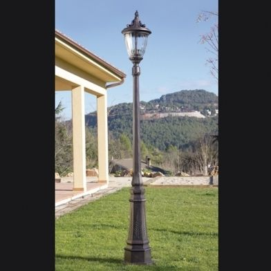 86 best exterior lighting traditional images on pinterest halo light direction structure material injected aluminium diffuser material glass structure finish oxide brown diffuser finish transparent lamp 3 x max aloadofball Image collections
