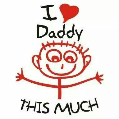 Love you dad this much