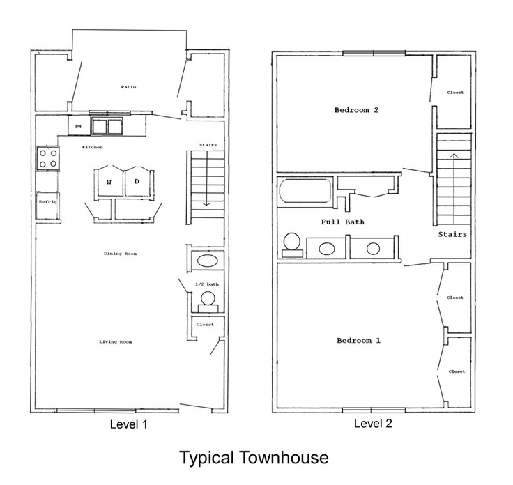 17 best images about townhouse on pinterest rooftops for 8x8 house plans