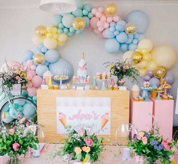 101 fiestas: Ideas para una fiesta temática de helados