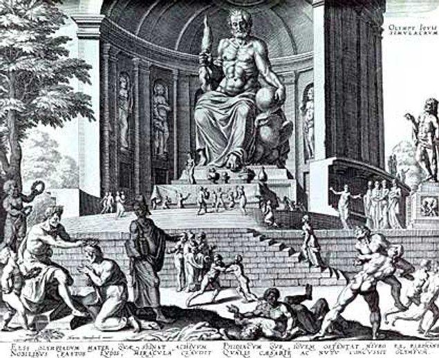 Statue of Zeus - Estatua de Zeus en Olimpia - Wikipedia, la enciclopedia libre