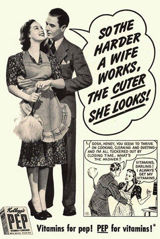 Shocking Sexism Vintage Ads | PlanetOddity.com