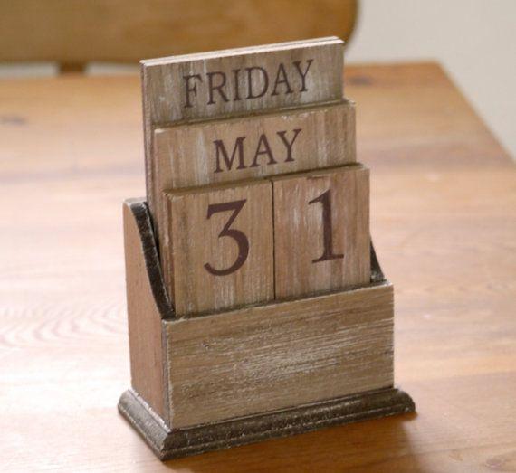 Perpetual Calendar Wood : Ideas about wooden calendar on pinterest perpetual