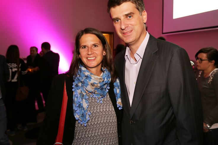 Isa Ostertag (ZDF, Germany) and Olgierd Cygan (Filmteractive Founder)