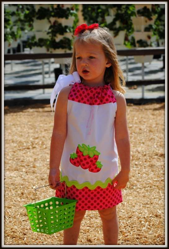 Strawberry Farm Birthday Party Ideas | Photo 3 of 27