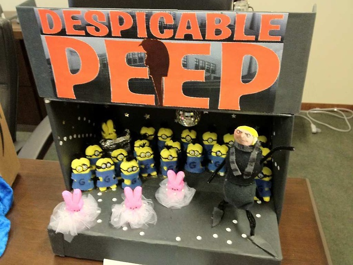 Dispicable Peep (2012 Peeps Diorama Contest)
