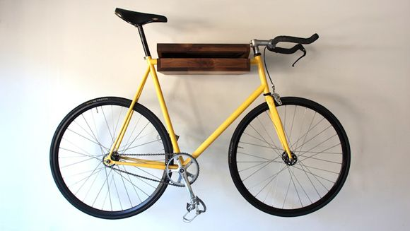 Bike shelf for the office.