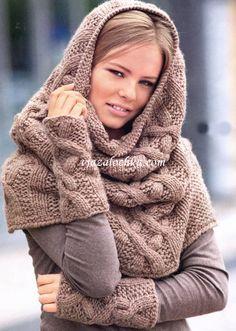 Snood scarf - tutorial