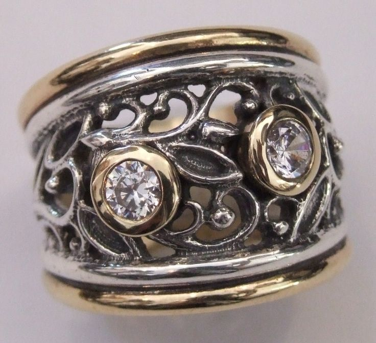 CAD ring in gold and silver - Susan Roos