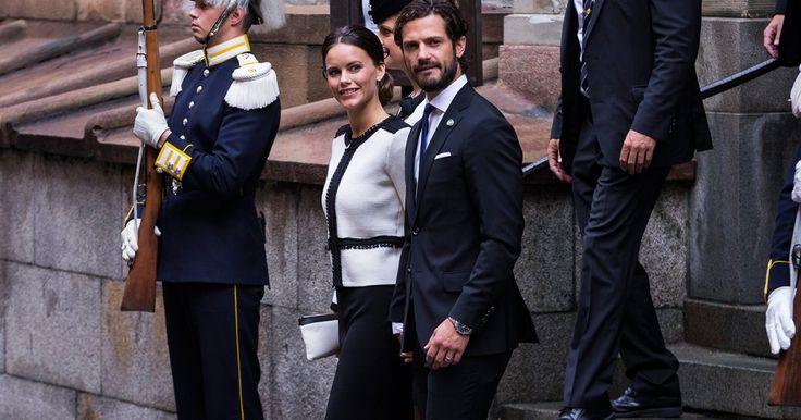 Nachdem Prinzessin Madeleine schon den Rücken gekehrt hat, suchte sich jetzt auch ihreSchwägerin Sofia einen Rückzugsort weit entfernt von Stockholm.
