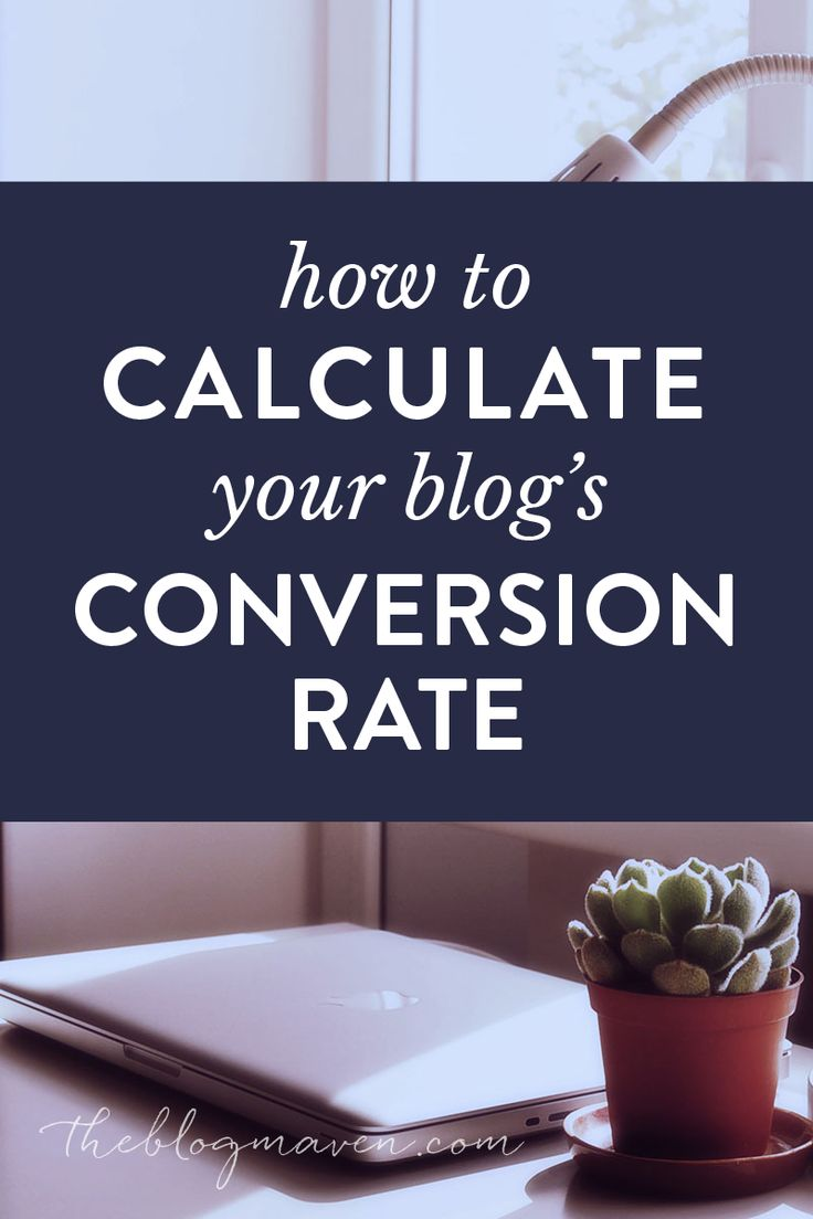 Step-by-step tutorial for how to calculate your blog's conversion rate for readers to subscribers. This is essential to measure your blogging success!