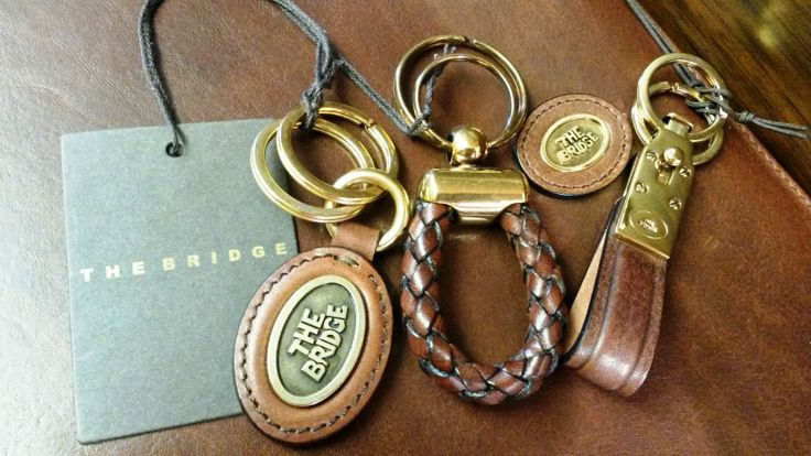 Top quality leather goods from The Bridge need not break the bank - these keyrings range from just £32. A bit of class that will last for years...