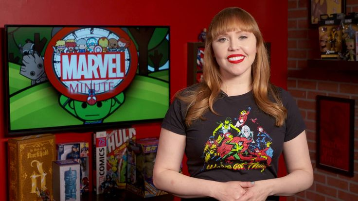 """Netflix! Games! """"Marvel's New Warriors""""! It's time for your #MarvelMinute with host Lorraine Cink."""