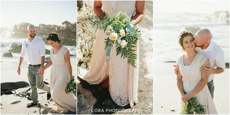 wedding photos on the beach #lambertsbayweddings #bosduifklipweddings