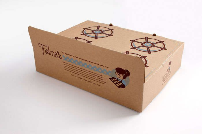 Stovetop-Inspired Cookie Boxes : cookie packaging design