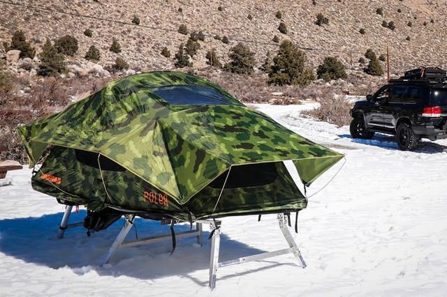 Hitch Tent Is A Clever Non Rooftop Platform For Your Rooftop Tent Roof Top Tent Top Tents Tent