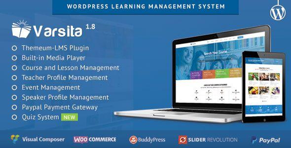 Varsita v1.8 - WordPress Learning Management System - http://www.imafiashare.com/templates/wordpress/varsita-v1-8-wordpress-learning-management-system/