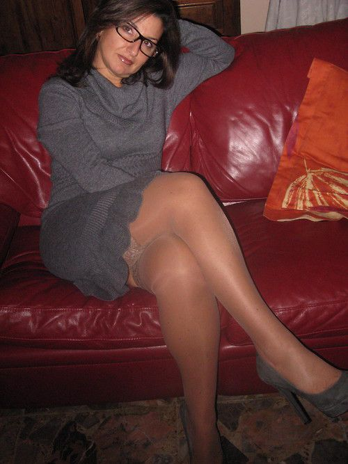 Seems Mature pantyhose legs sorry