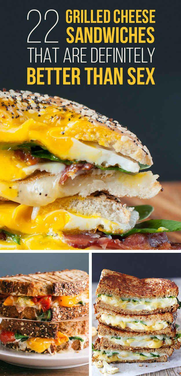 22 a la parrilla sándwiches de queso que se ven tan bueno usted comienza a sudar