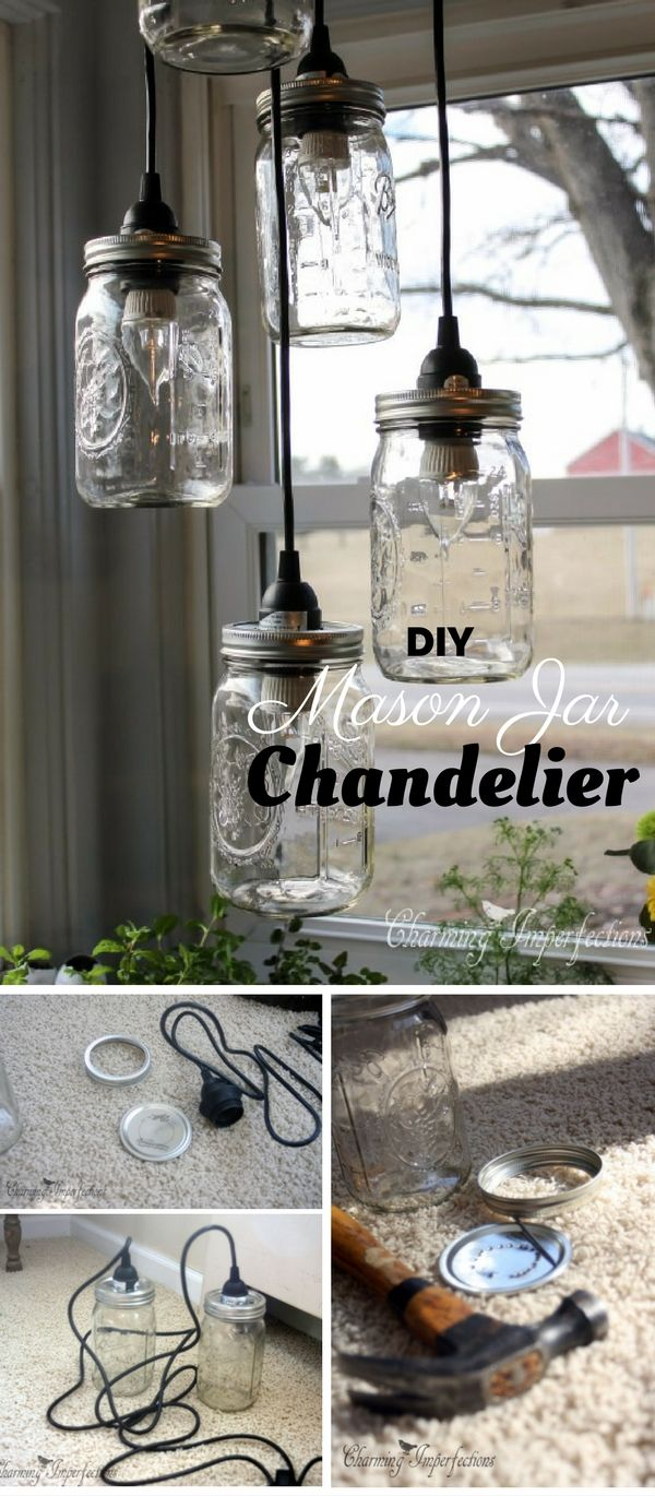 Check out the tutorial: #DIY Mason Jar Chandelier @istandarddesign